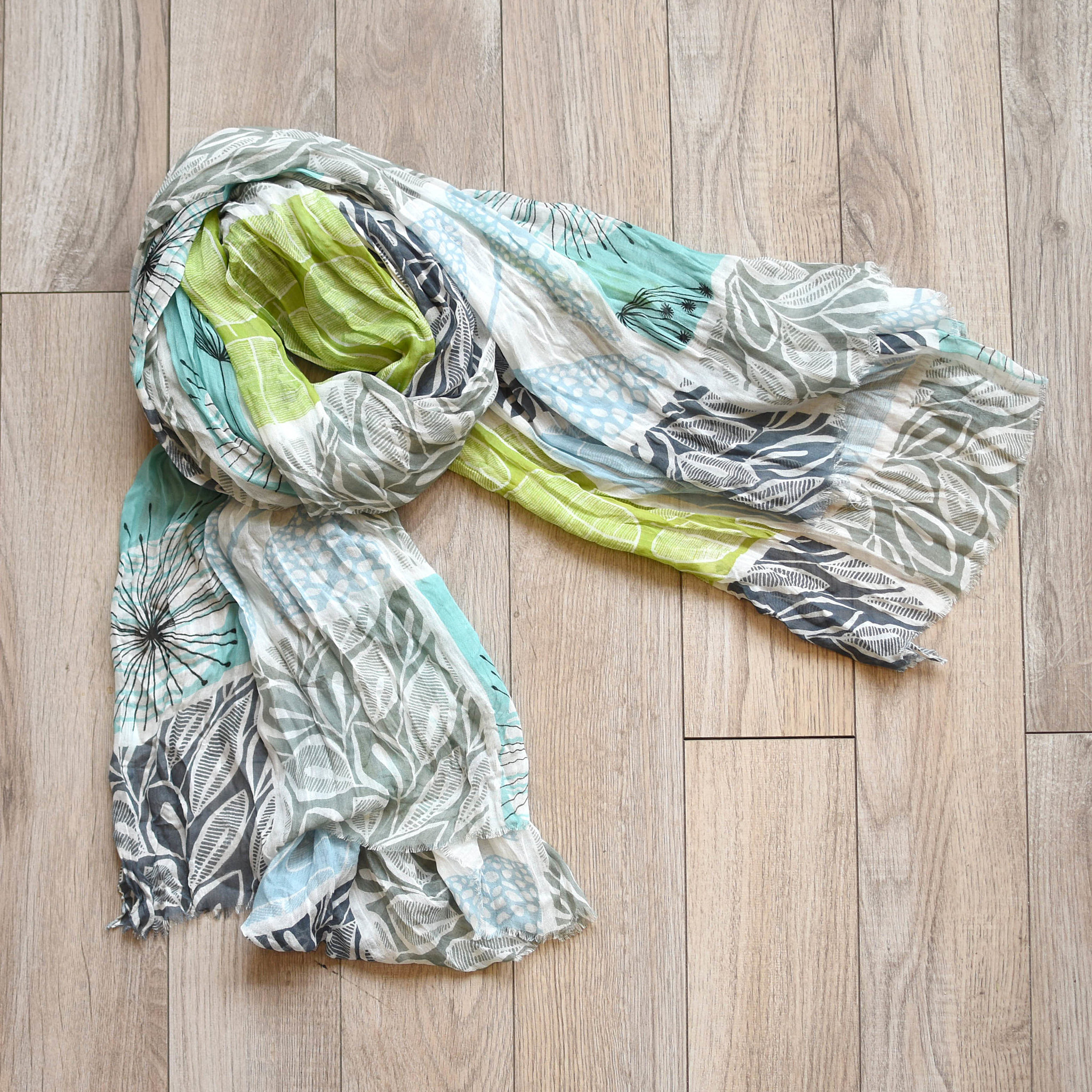 vsa vsa hello 60's scarf grey