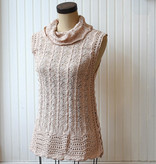 miss me miss me crochet lace sleeveless sweater