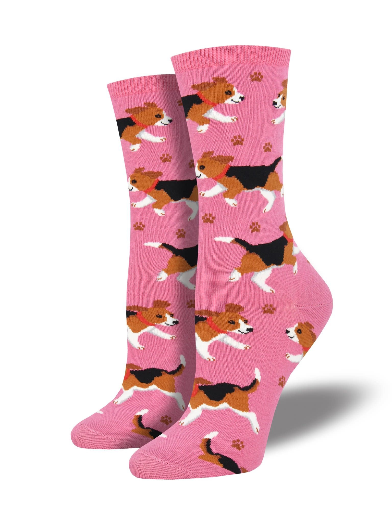 socksmith socksmith puppy prints pink