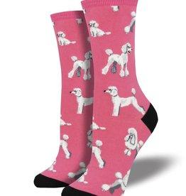 socksmith socksmith oodles of poodles pink