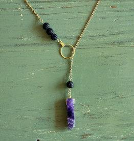 dara firoozi dara firoozi lava stone necklace