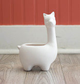 two's company two's co. llama planter