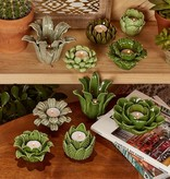 two's company two's co. succulent tea light candleholder