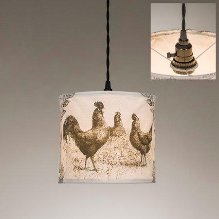 ctw chicken pendant lamp