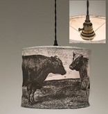 ctw cow pendant lamp