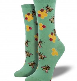 socksmith socksmith busy bees seafoam