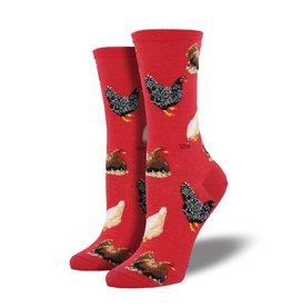 socksmith socksmith hen house red
