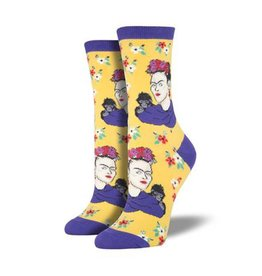 socksmith socksmith kahlo portrait socks sundrop