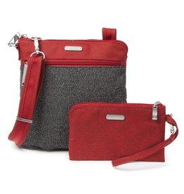 baggallini baggallini anti theft slim crossbody bag