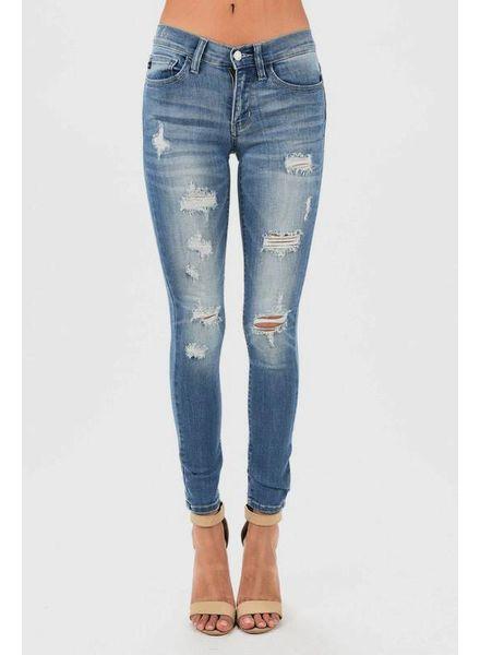 Judy Blue Judy Blue Destroyed Skinny Jean