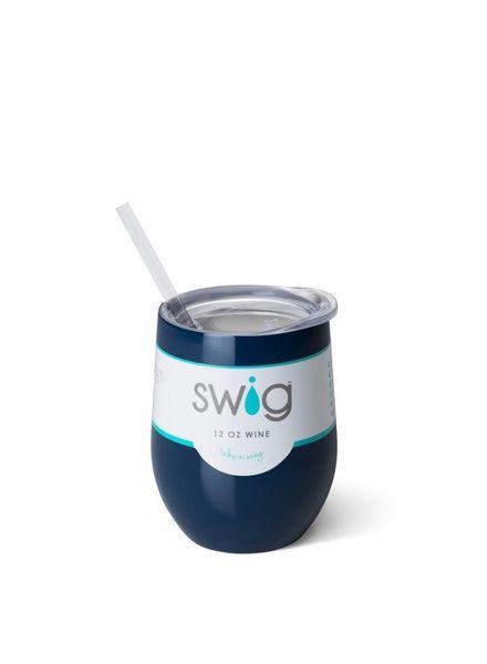 SWIG SWIG Stemless Wine Cup Navy