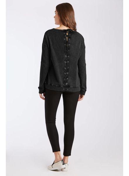 Dear John Dear John Joni Sweatshirt Vintage Black