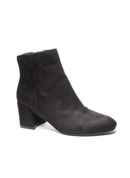 Chinese Laundry CL Daria Fine Suede Bootie Black