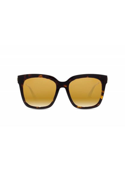DIFF Bella Tortoise Gold Flash Polarized