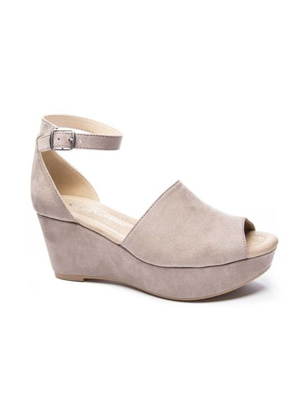 Chinese Laundry CL Dara Super Suede Taupe