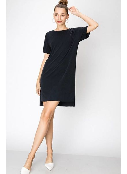 HYFVE HYFVE Modal Ribbed Dress Short Sleeve