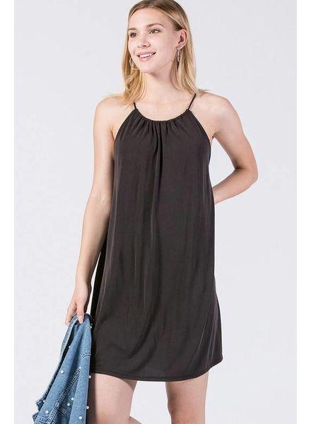 HYFVE HYFVE Modal Flowy Dress Black