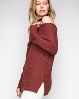 HYFVE HYFVE Off Shoulder Sweater