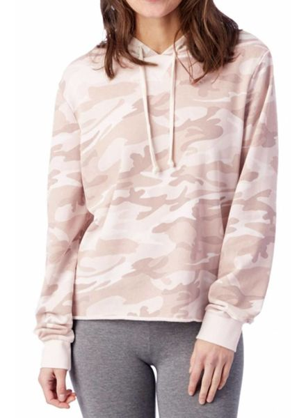 Alternative Apparel Alternative Camo Hoodie Blush