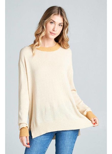 Wendy WEN Light Sweater Almond Gold