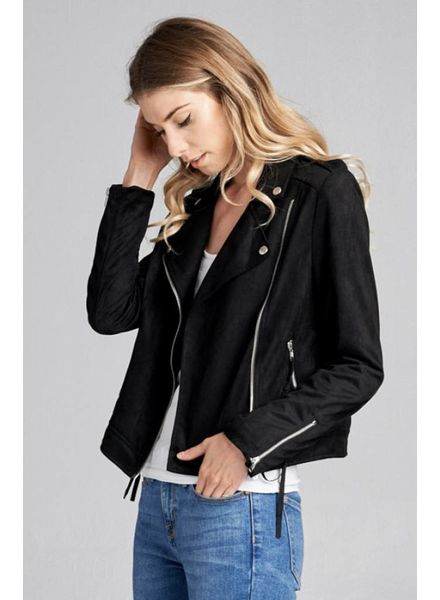 Wendy WEN Moto Poly Jacket