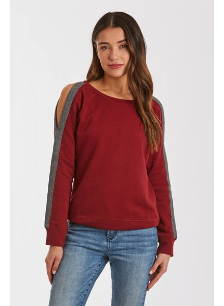 Another Love Another Love Helen Striped Sweatshirt