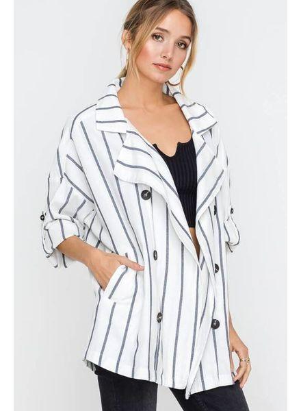 Lush Lush Light Striped Jacket