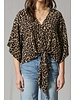 By Together By Together Leopard Print Tie Top