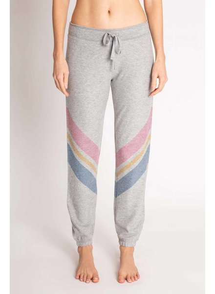 PJ Salvage PJ Salvage Striped Jogger Grey