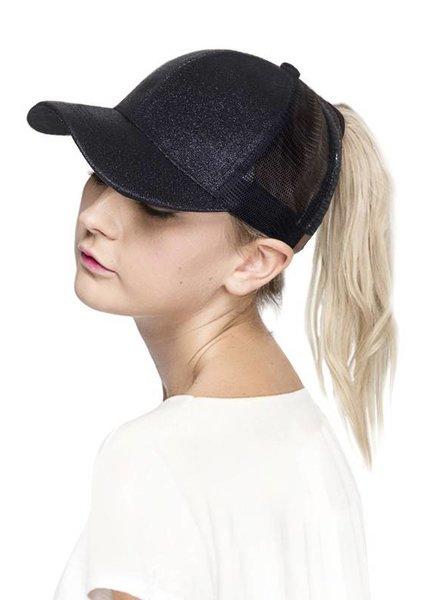 Hana CC Glitter Baseball Cap