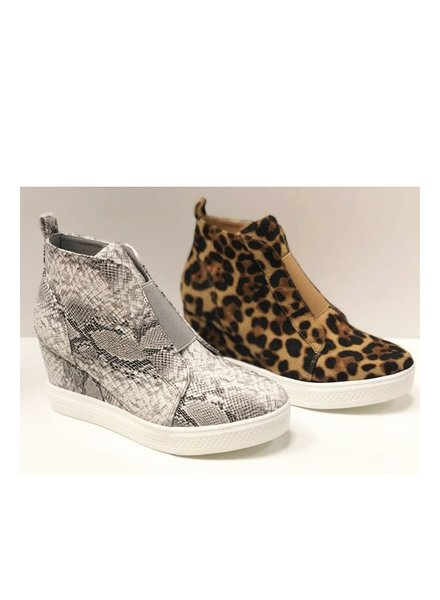 CCOCCI Zoey Wedge Sneaker Printed