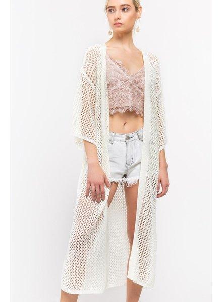 POL POL Crochet Duster
