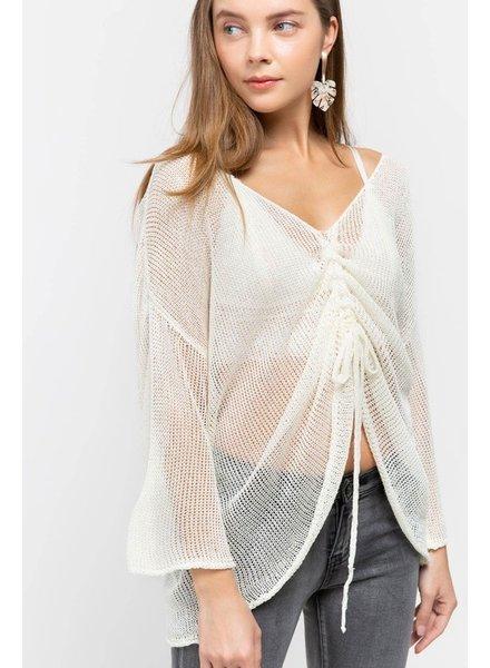 POL POL Knit Pullover Cream