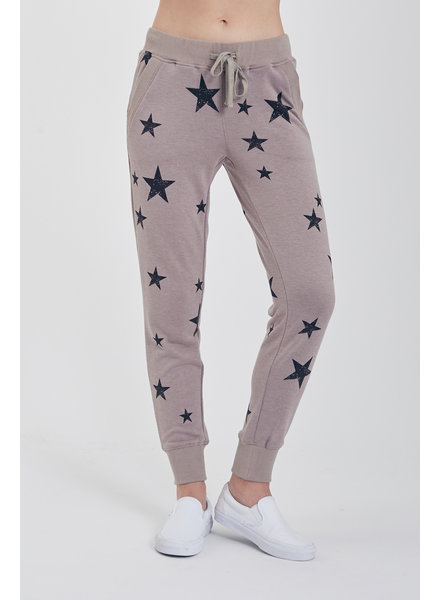 Another Love Another Love Jogger with Stars Grey