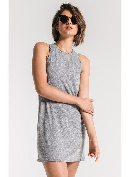 Z Supply Z Supply Triblend Muscle Dress Grey