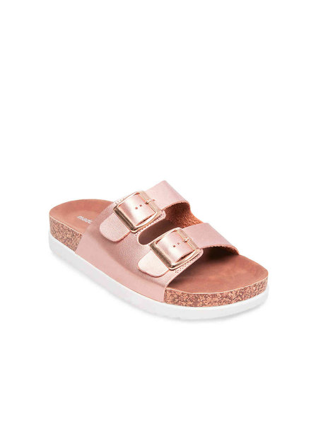 Steve Madden Madden Girl Goldie Rose Gold Sandal