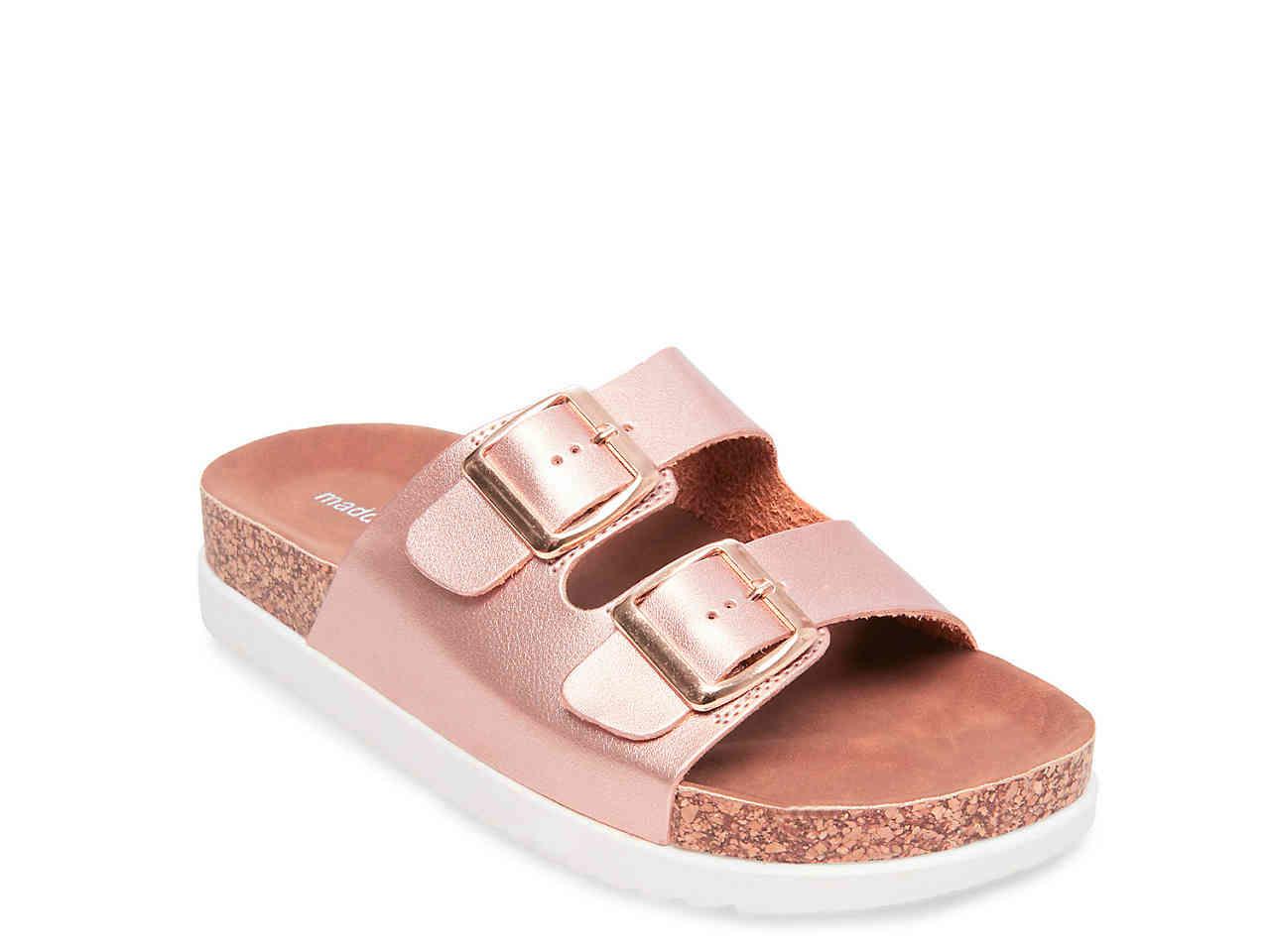 77089d4e72c Madden Girl Goldie Rose Gold Sandal