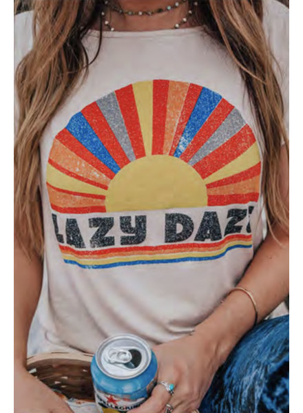 Wendy WEN Lazy Daze Tee
