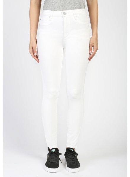 AOS AOS Heather High Rise White Denim