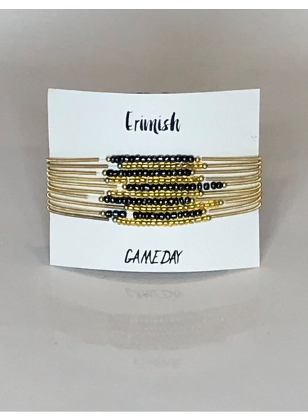 Erimish ERIMISH NAVY/GOLD STACK SET