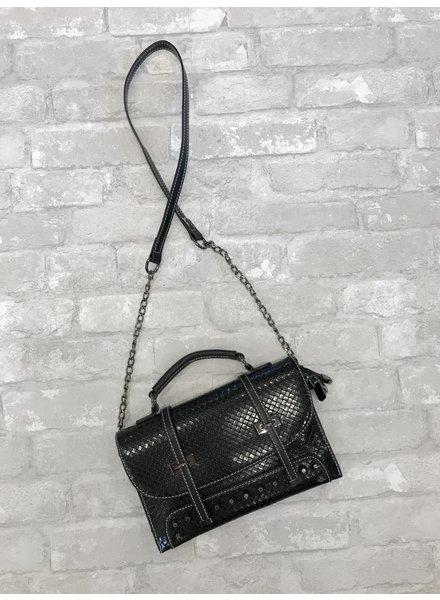 Wendy WEN Shoulder Clutch Bag Studded
