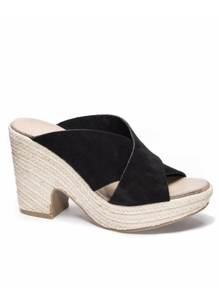 Chinese Laundry Quay Split Suede Wedge