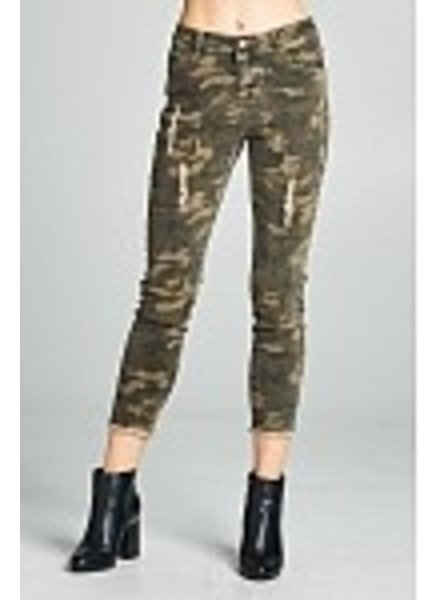 Wendy WEN Ellison Camo Denim