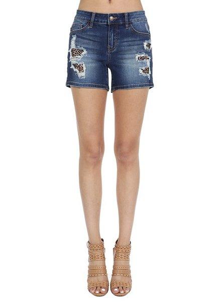 Judy Blue Judy Blue Leopard Shorts