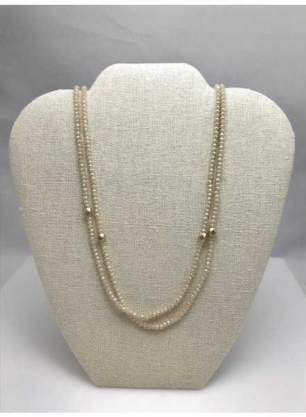 MISC Champagne Long Necklace
