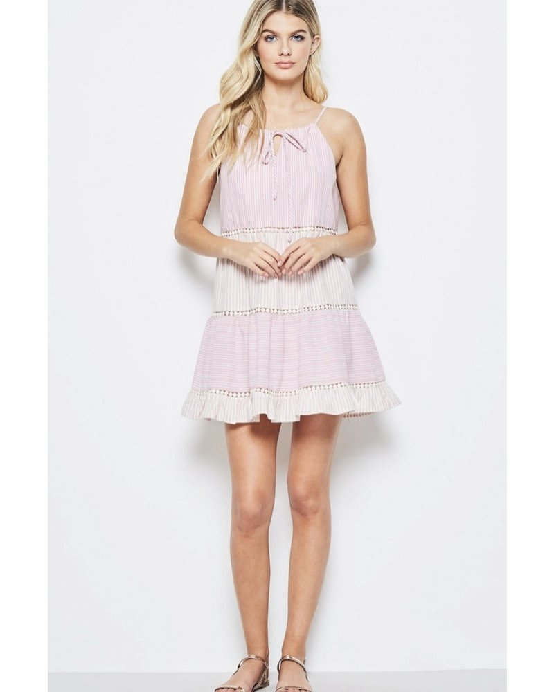 Wendy WEN Andree Blush Dress