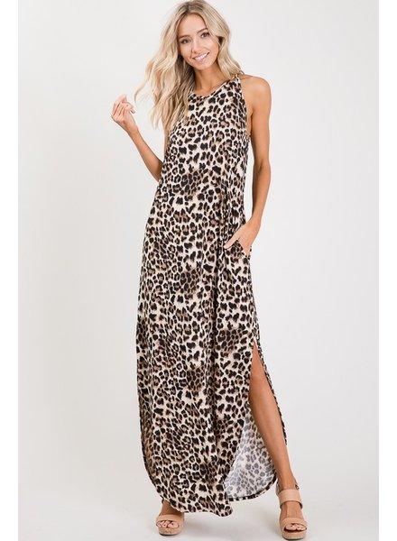 MISC Animal Print Dress