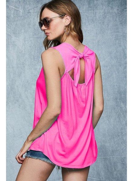 BIBI Bibi Pink Sleeveless Top