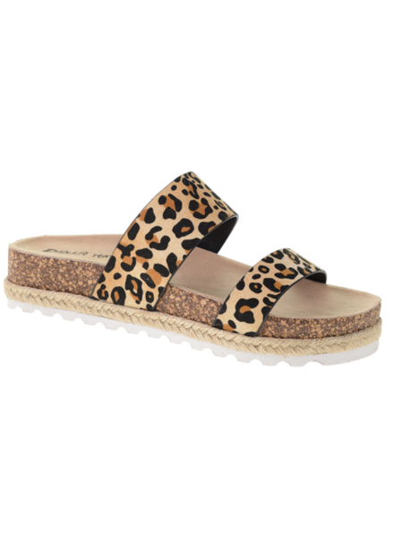 Chinese Laundry Chinese Laudry Double Play Leopard Slide