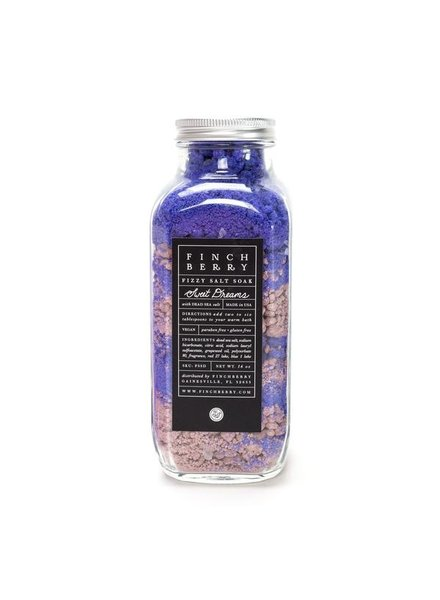 Finch Berry Finch Berry Fizzy Salt Soak Sweet Dreams